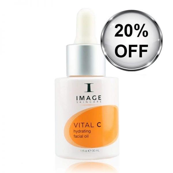 image vital c hydrating facial oil