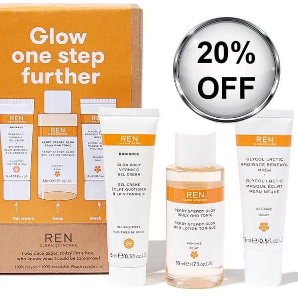 ren glow one step further kit